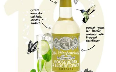 Say hello to the newest addition to our cordial family!! Gooseberry & Elderflower