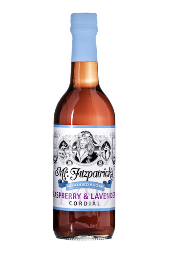 NEW! Raspberry & Lavender NO ADDED SUGAR CORDIAL