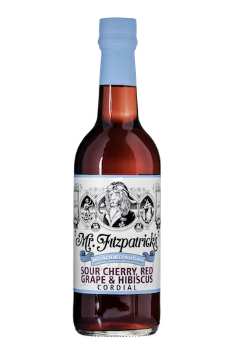 NEW! Sour Cherry, Red Grape & Hibiscus NO ADDED SUGAR CORDIAL