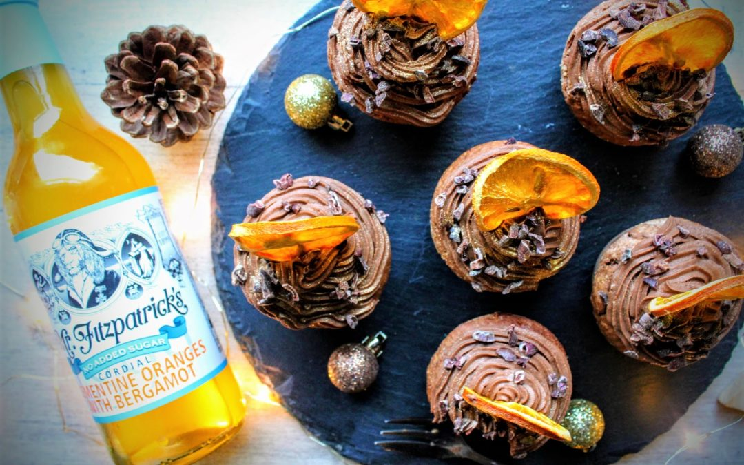 So much more than a cordial ..  Mr Fitz Chocolate & Orange Muffins