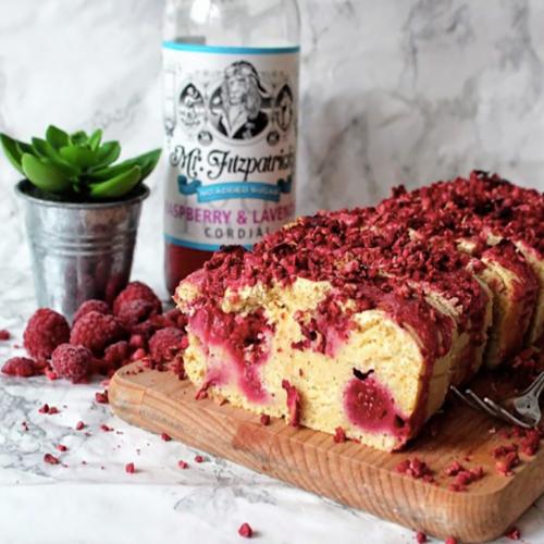 Raspberry & Lavender Bake by SpamellaB