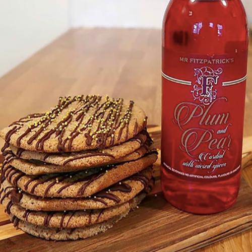 Plum & Pear Cookies by Katie Bradley