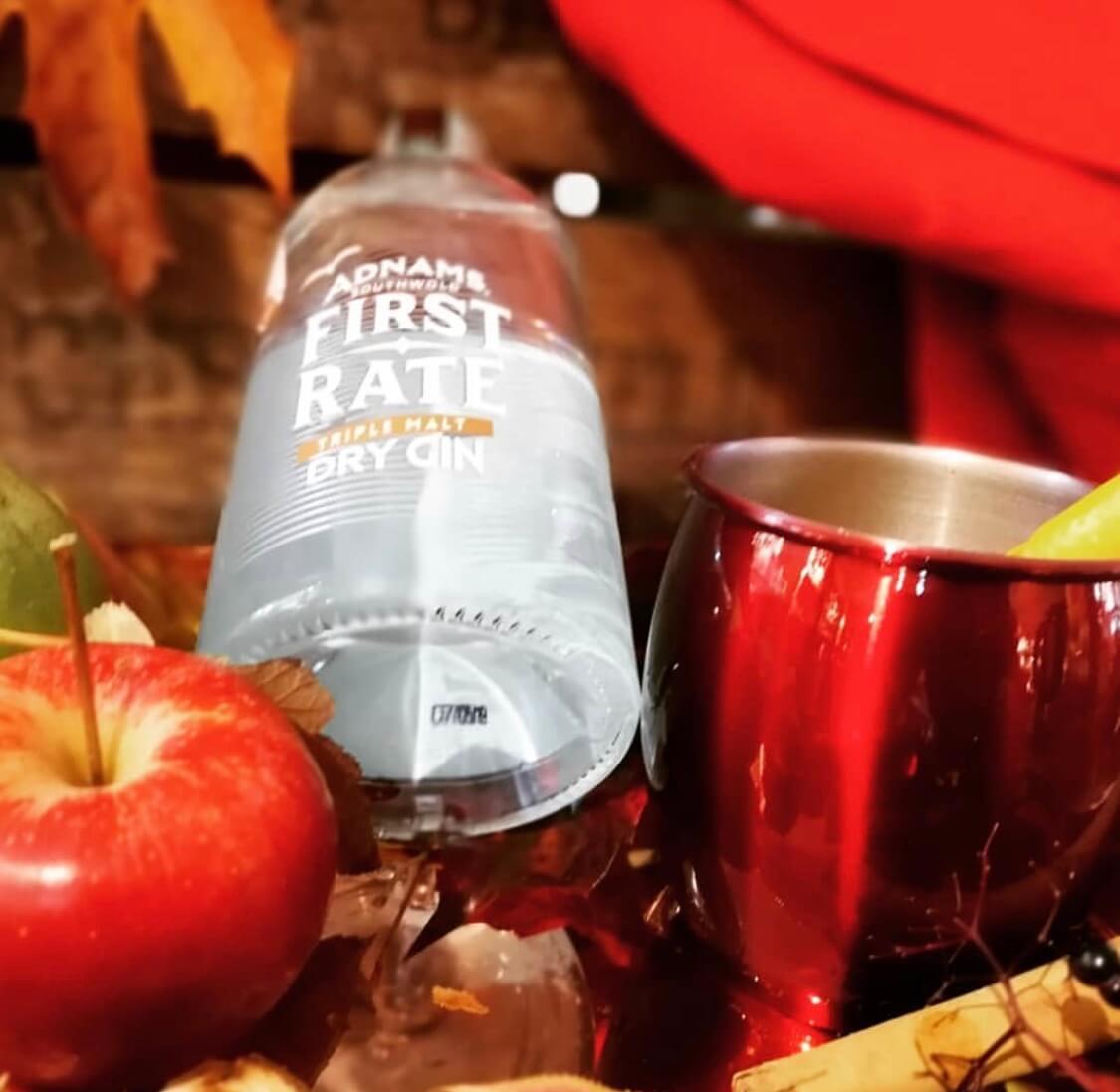 Adnams Autumn Gin Apple Warmer