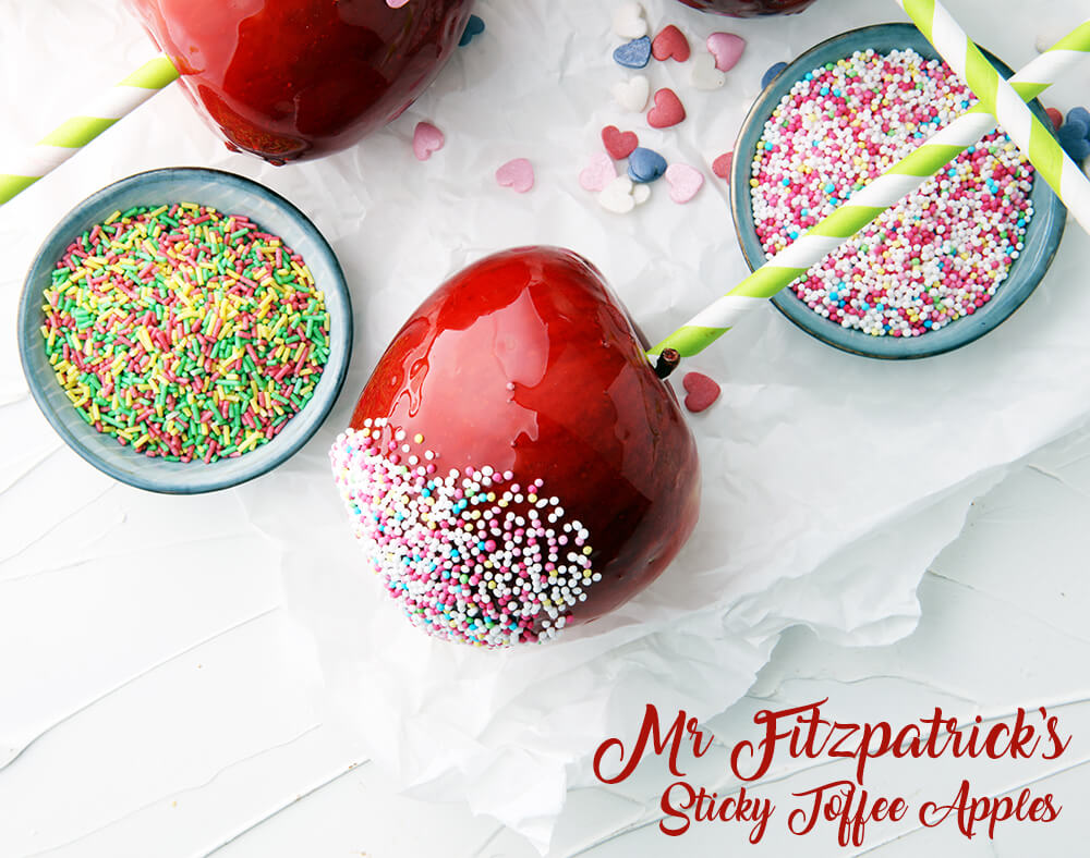 Mr Fitzpatrick's Sticky Toffee Apples