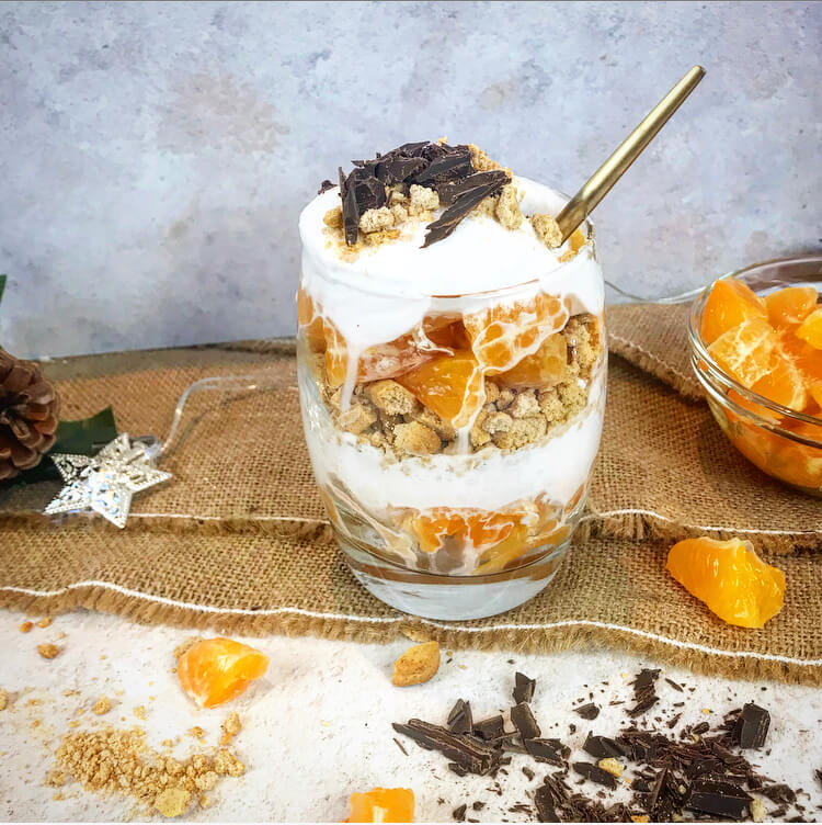 The Perfect Clementine Parfait